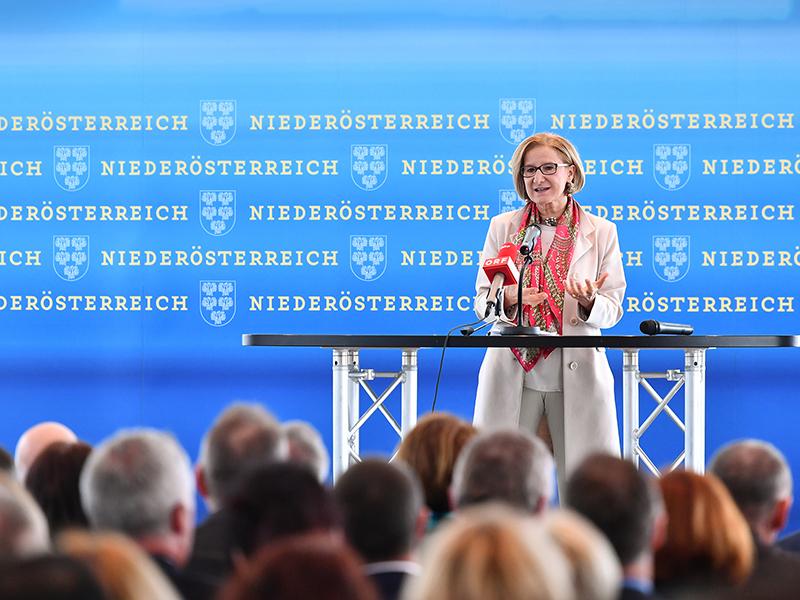Gesundheitsreform Präsentation Strukturreform Mikl-Leitner