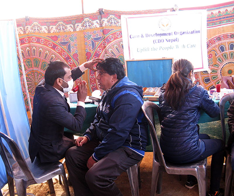 Augen Camp Nepal