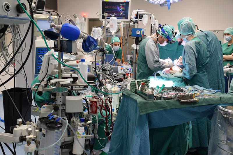 Operation erstes künstliches Herz in OÖ