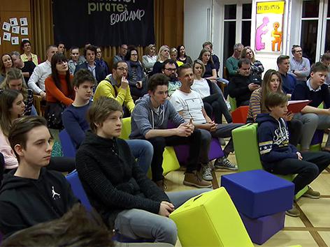 Tinje startup Moonschot Pirates SGZ mladina