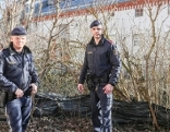 Bei Verfolgung durch Polizei in Steyr-Fluss gefallen, Polizisten als Lebensretter