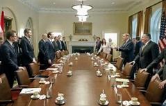 setkání Kurze s Trumpem v Bílém domě