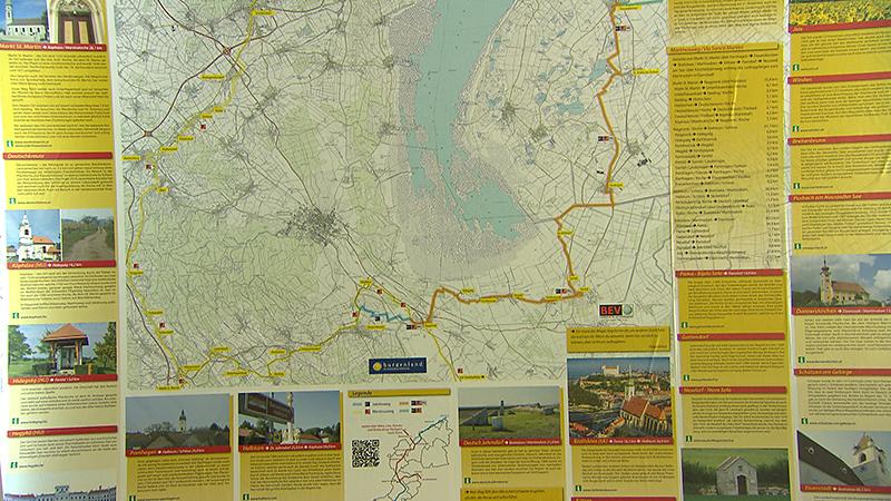 Erste Pilgerwegkarte Des Landes Prasentiert Burgenland Orf At