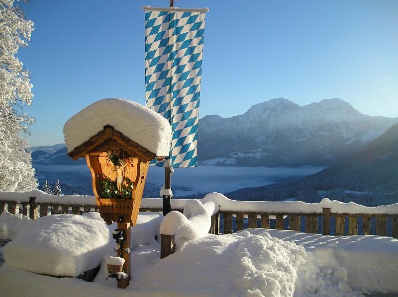 Winter und Sommer, Gerstreit Ramsau Bayern