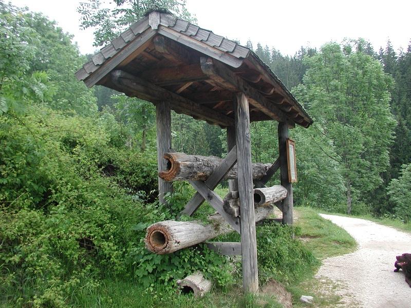 Soleleitungsweg Ramsau Bayern Winter Sommer