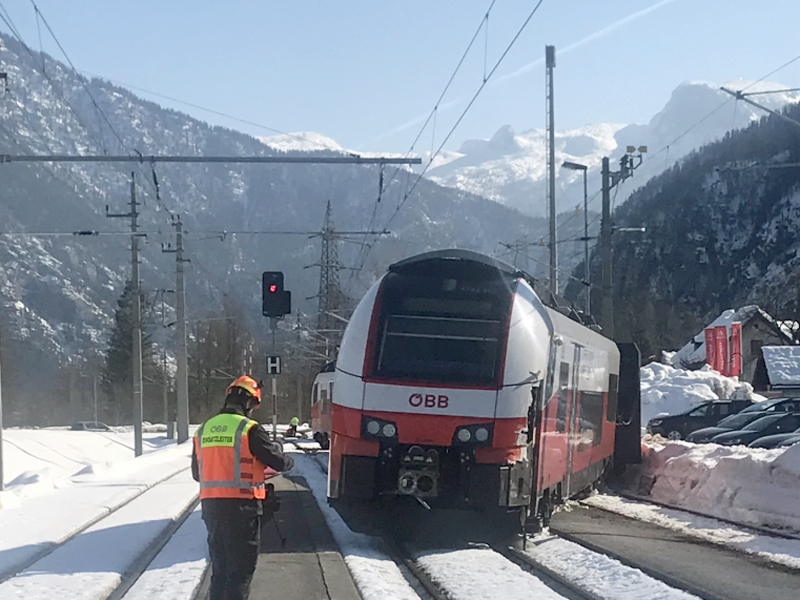 Zug Cityjet entgleist