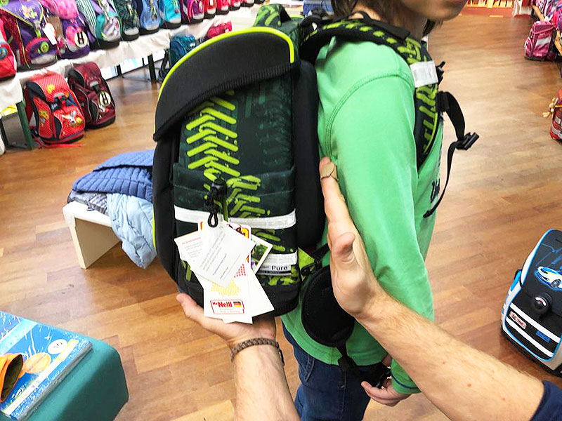 Schultasche Tipps Passform