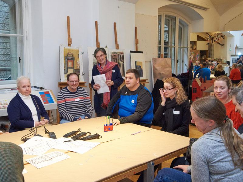Barrierefreie Kunst Workshop KHM