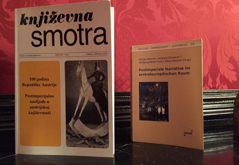 Prezentirane dvi knjige u Beču