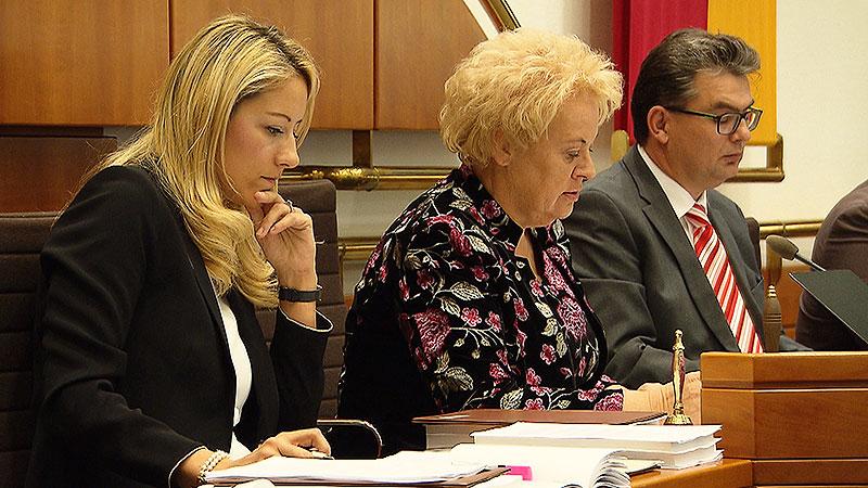 Landtagspräsidentin Verena Dunst