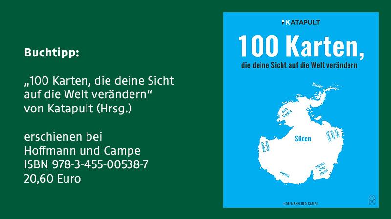 """""""100 Karten, die deine Sicht auf die Welt verändern"""""""