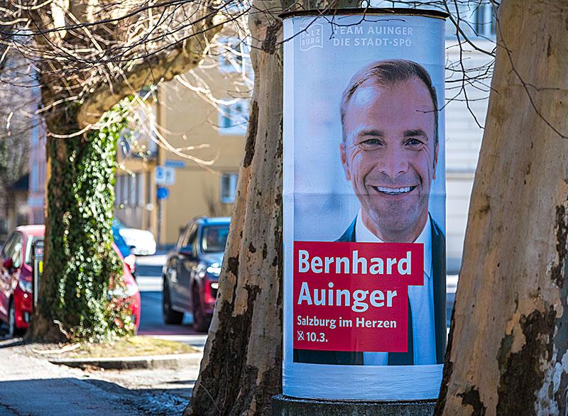Wahlplakate Bürgermeisterwahl 2019