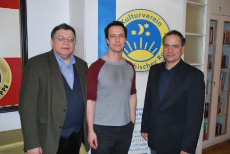 Andreas Sarközi, Gerhard Baumgartner, Bernhard Weidinger