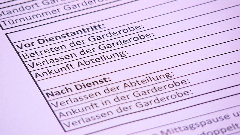 Klinik Innsbruck Messungen