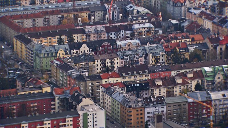 Blick auf den Innsbrucker Blocksaggen
