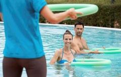 Faszien-Fitness im Thermalwasser der Parktherme Bad Radkersburg