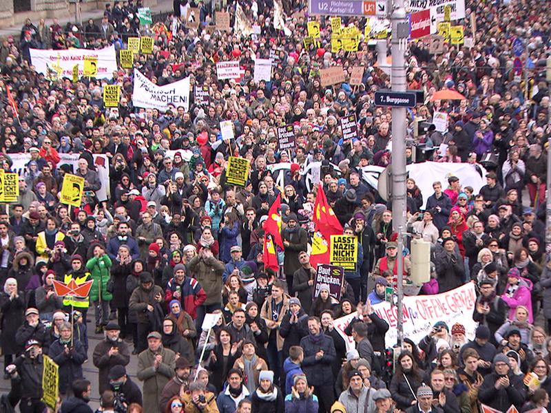 Mehrere tausend Teilnehmer bei Anti-Rassismus-Demo in Wien