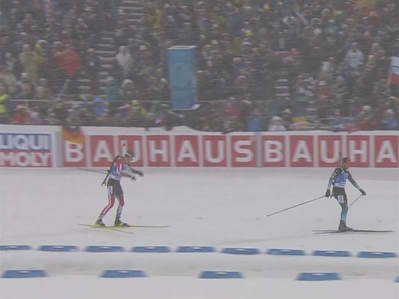 Julian Eberhard holt Bronze bei Biathlon-WM