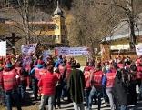 Forstarbeiter Proteste Gut Johannes Thurn-Valsassina