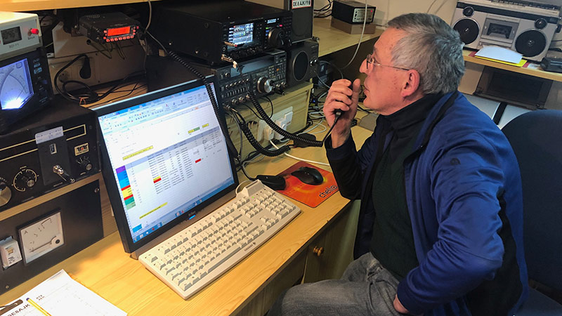 Amateurfunker Jöbstl Blackout kommunikation