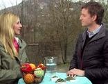 Edina Gaisecker und Wolfgang Lanner im ORF Fernsehgarten