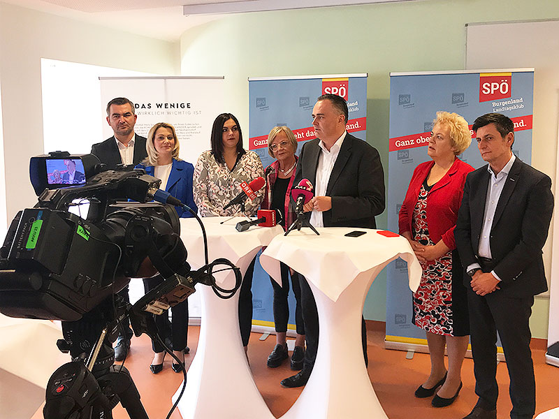 SPÖ Klausur Bad Tatzmannsdorf