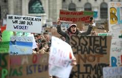 Proteste Klima Wien