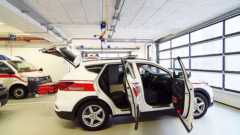 Neue Notarzt Wagen System