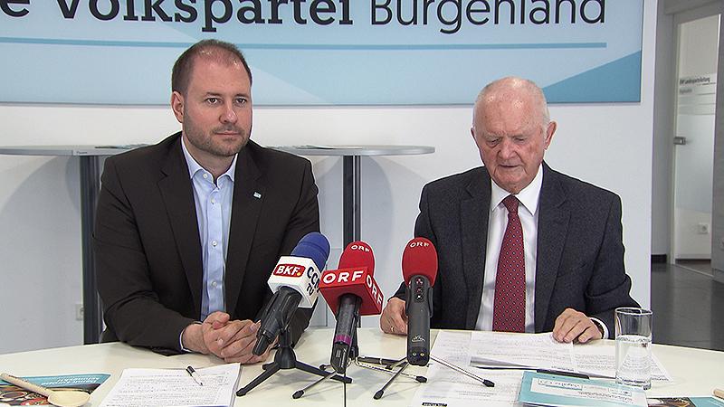 Christian Sagartz und Kurt Korbatits