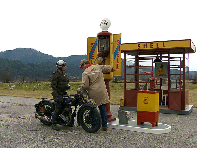 Alte Tankstellen Sammler