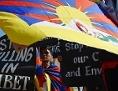 Demonstration von Exiltibetern anlässlich des 60. Jahrestages des Volksaufstands gegen China in Tibet, am 10. März 1959, im indischen Chennai