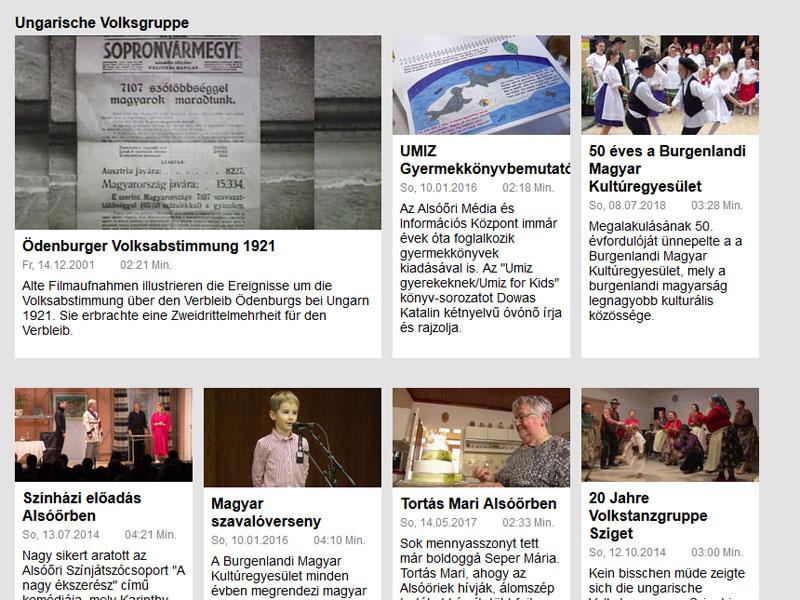 ORF Tvthek volksgruppen in Österreich