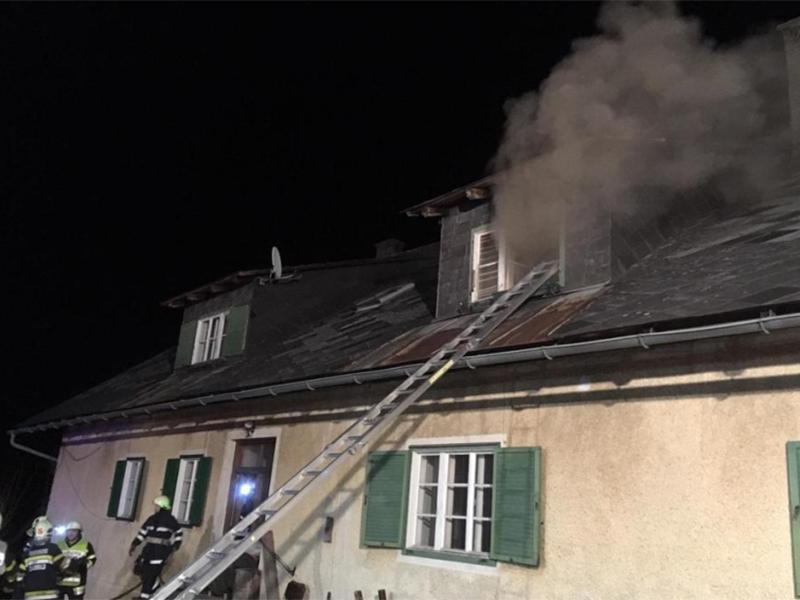 Brand in St. Oswald bei Eibiswald