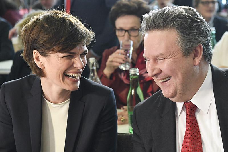 Rendi Wagner und Ludwig