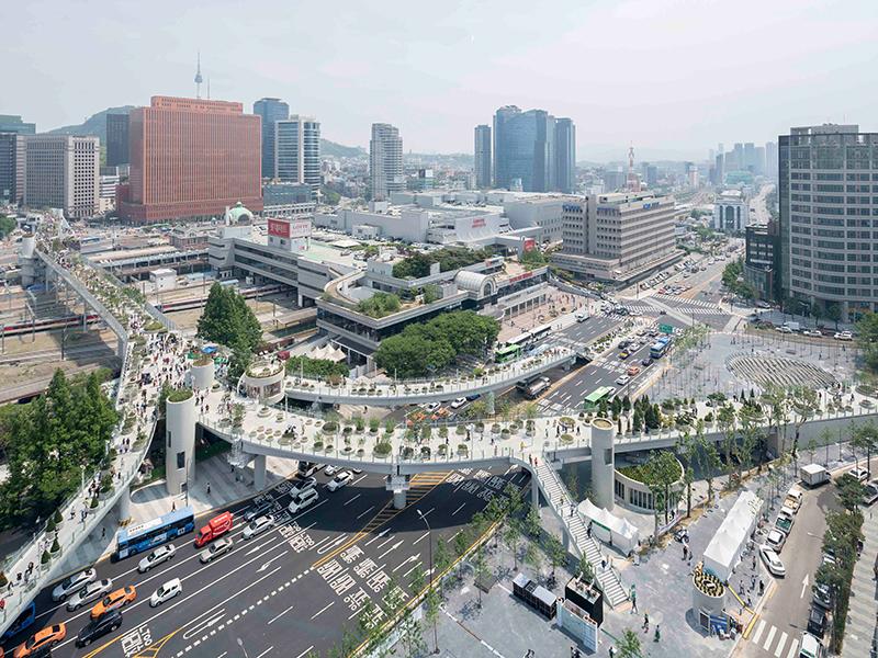SPACE AND EXPERIENCE Architektur für ein besseres Leben Seoul Skygarden, Seoul, 2015