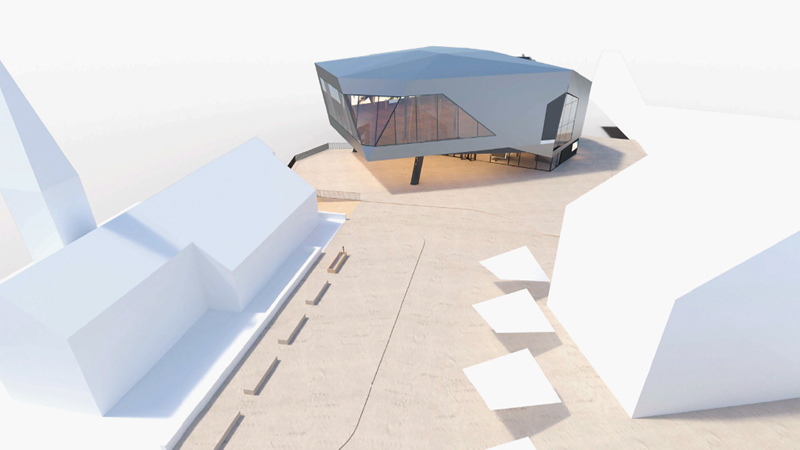 Pläne neues Veranstaltungszentrum