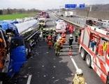 Lkw Unfall Sperre A1 Amstetten