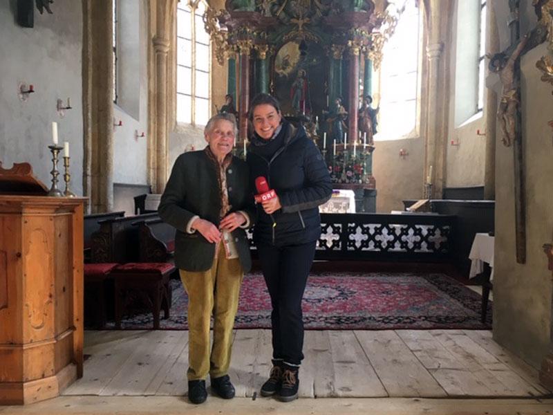 Maria Gautsch und Conny Deutsch