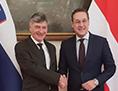 Medved minister srečanje Strache