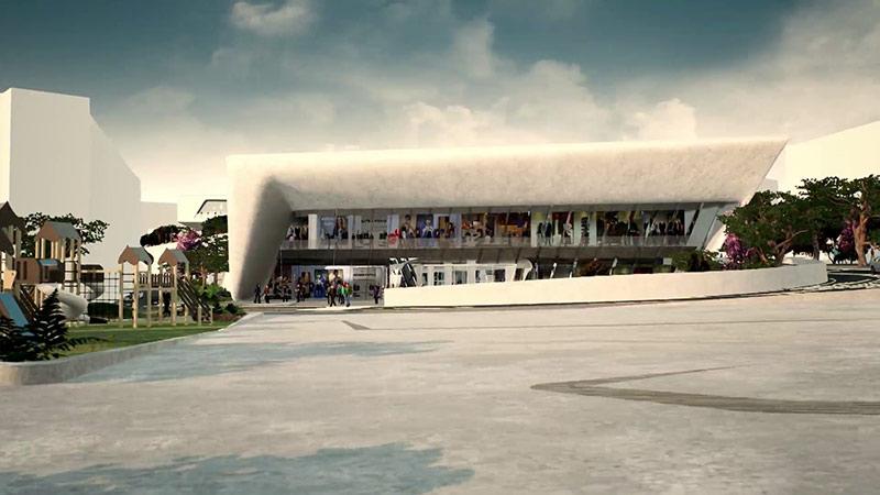 Mosser Investition Triest Messe Einkaufszentrum