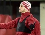 Marko Arnautovic bei Training vor Österreich - Polen