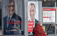 Wahlplakate Harald Preuner und Bernhard Auinger