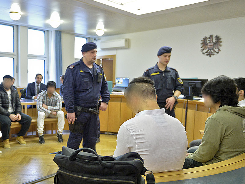 Prozess nach Brandstiftung in Polizeianhaltezentrum am Gürtel