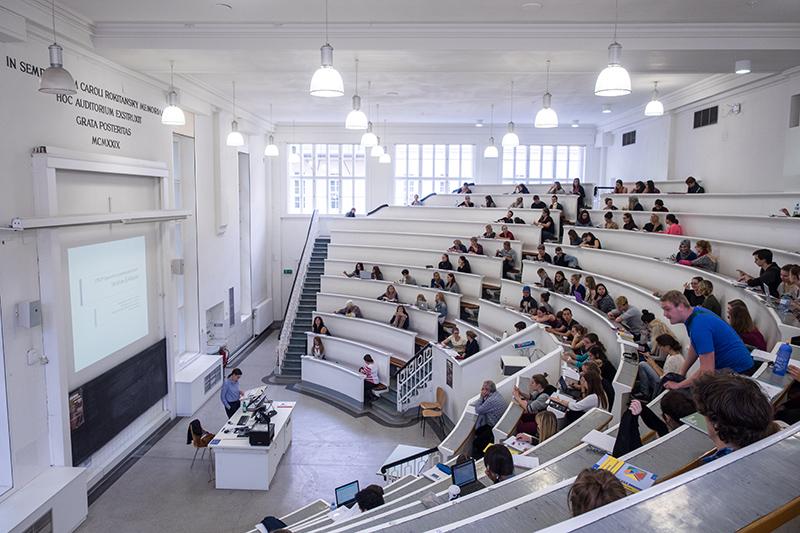 Hörsaal der Universität Wien