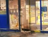 Einbruch in Supermarkt und Bankomat
