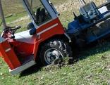 Traktorabsturz