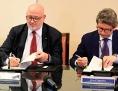 Podpis sporazum železnice ÖBB pristanišče Trst
