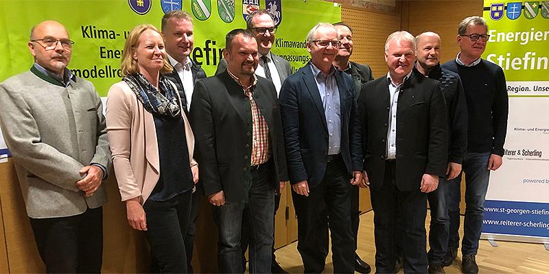 Die Bürgermeister der Kleinregion Stiefingtal