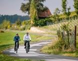 Fahrrad Frühling Sommer Tourismus