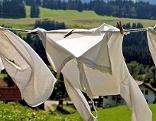 Wäsche Trocknen Wäscheleine
